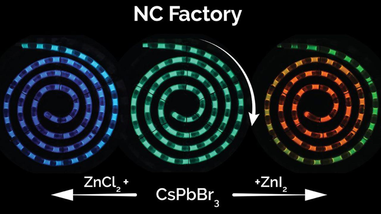 روشی برای تولید ارزان و با کیفیت نقاط کوانتومی پروسکیتی