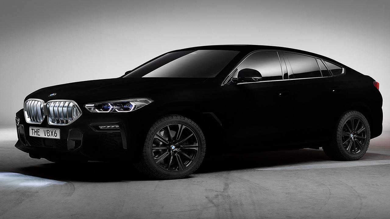 با استفاده از رنگ نانویی، BMW سیاهترین خودروی جهان را ساخت