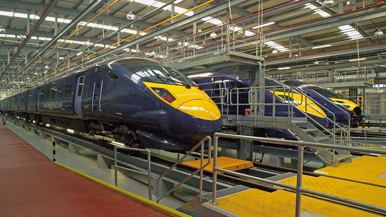 نانوپوششهای خودترمیمشونده در قطار برای محافظت از سایش