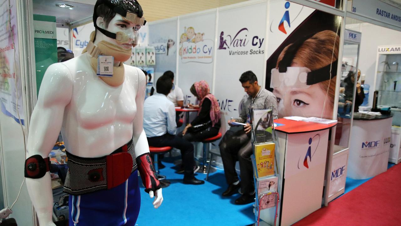 حضور شرکتهای نانویی در نمایشگاه ایران هلث