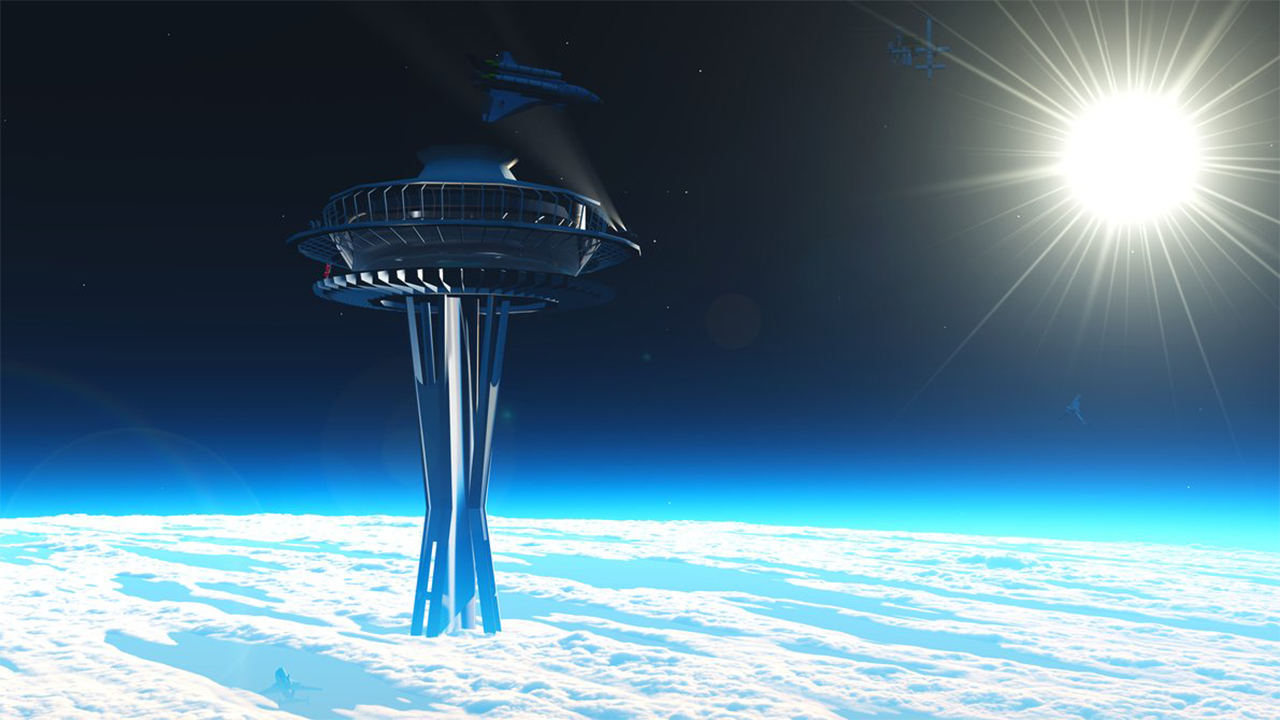 ایده ساخت آسانسوری میان زمین و ماه چقدر به تجاریسازی نزدیک شده است؟