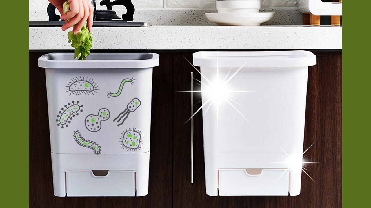 سطلهای زباله پاک و ضدمیکروب؛ ارمغان فناوری نانو