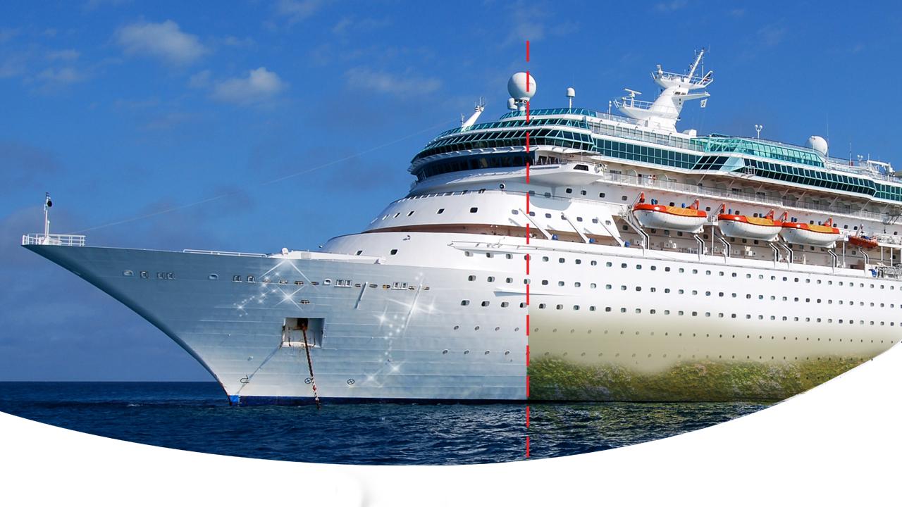 نانوپوشش ضدخره برای محافظت از بدنه کشتیها