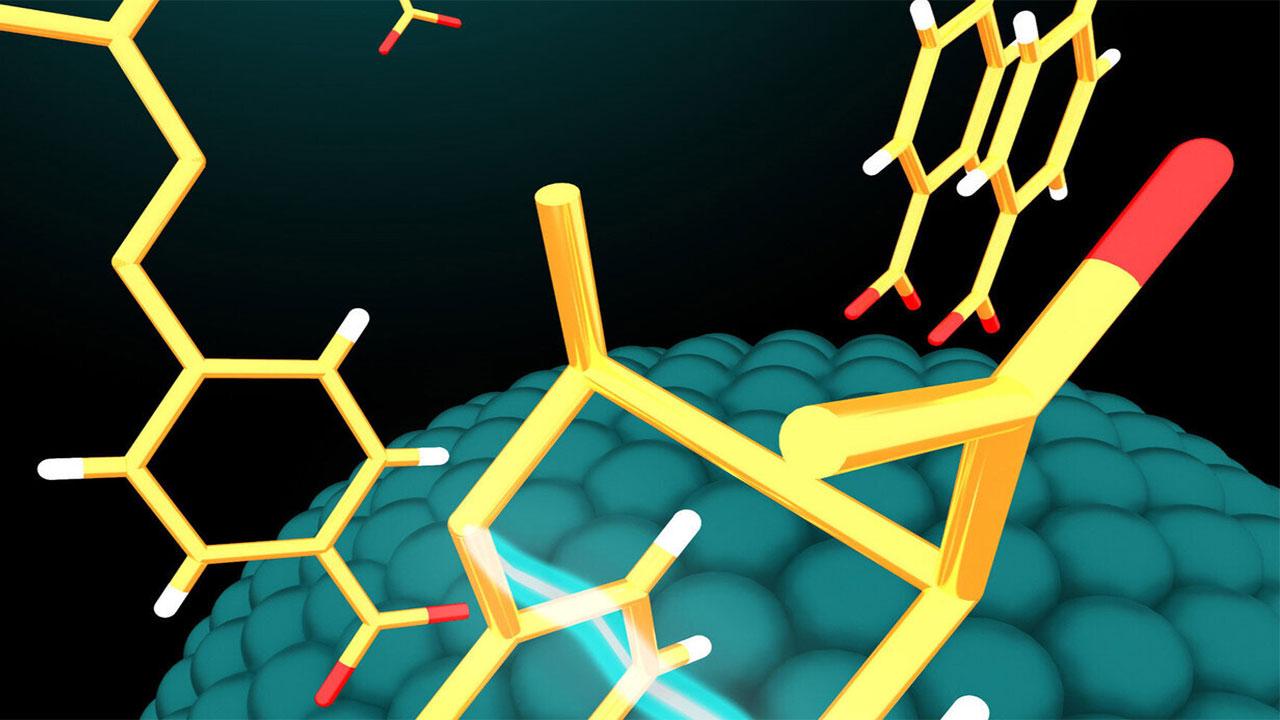 استفاده از نقاط کوانتومی بهعنوان کاتالیزور برای تولید ترکیبات دارویی