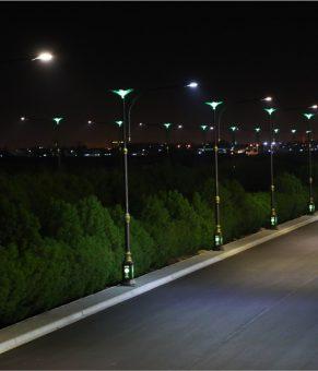 چراغهای خیابان و بزرگراه با فناورینانو تمیز باقی میمانند