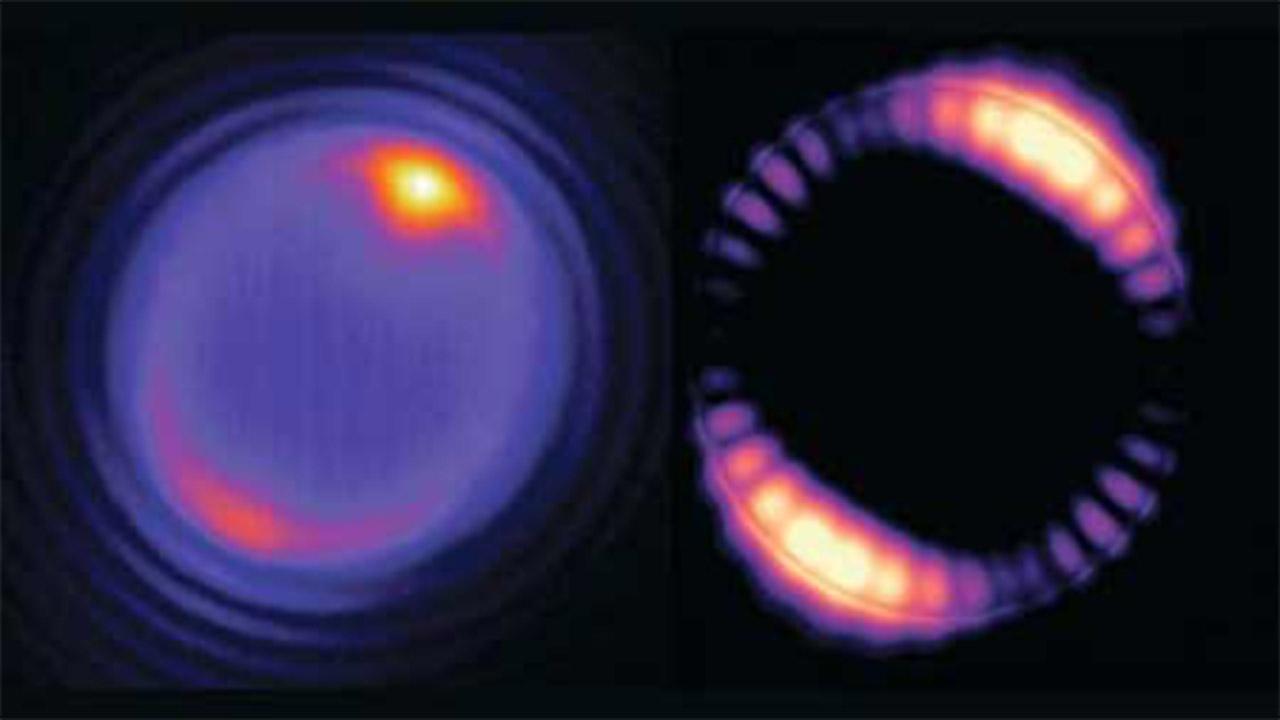 ساخت لیزرهایی کوچکتر از سلولهای قرمز خون