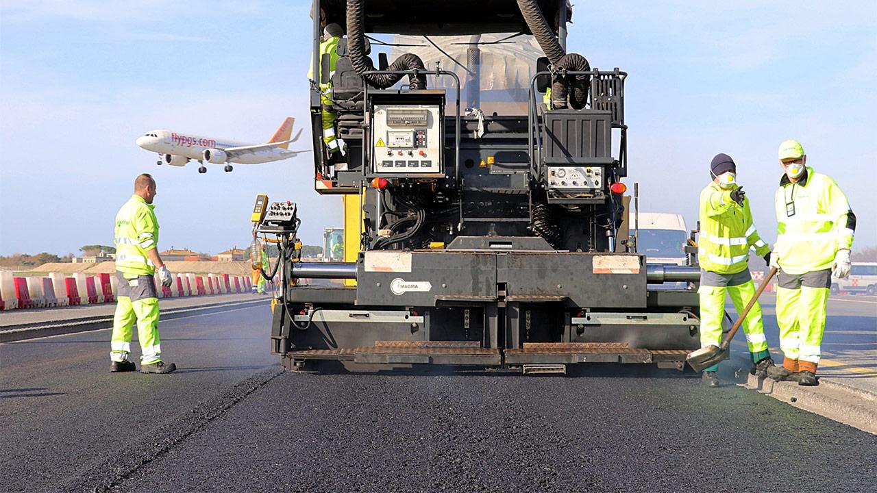 استفاده از آسفالت تقویت شده با گرافن در باند یک فرودگاه بینالمللی
