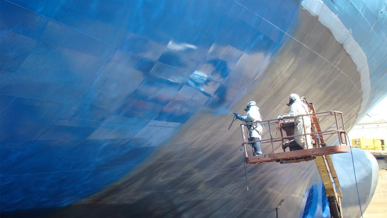 استفاده آزمایشی از پوششهای حاوی گرافن در کشتیها