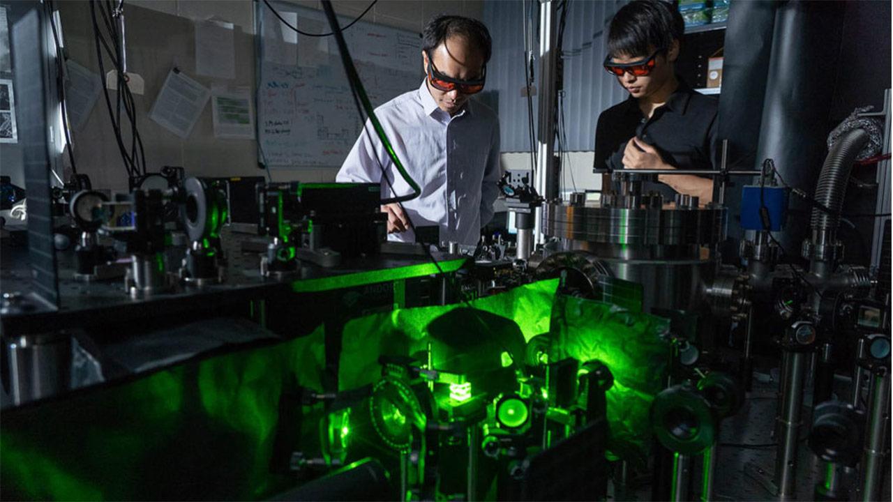 نانوحسگری با ۳۰۰ میلیارد چرخش در دقیقه برای محاسبه اصطکاک کوانتومی