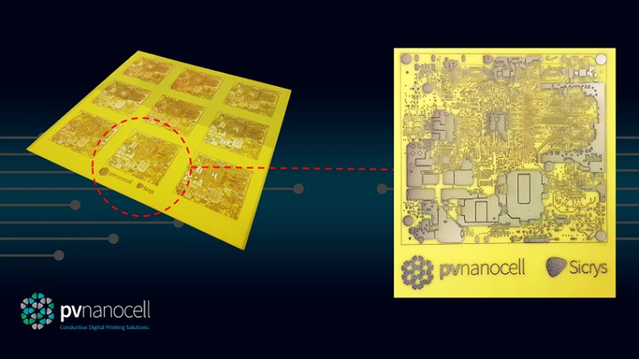 کمک به توسعه چاپ دیجیتال در الکترونیک چاپ با جوهر نانو