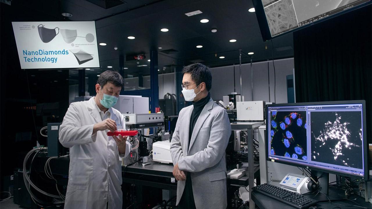 تولید ماسک با ذرات نانوالماس برای مقابله با کرونا