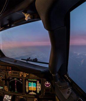 شیشه هواپیما با پوشش نانومتری جهت جلوگیری از تشکیل بخار